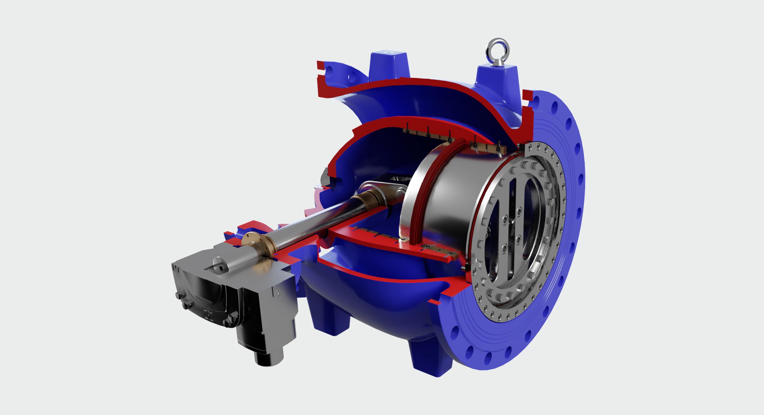 AVK needle valve cutaway