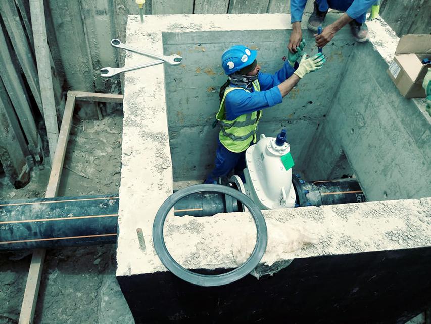 Site image -AUH city gas