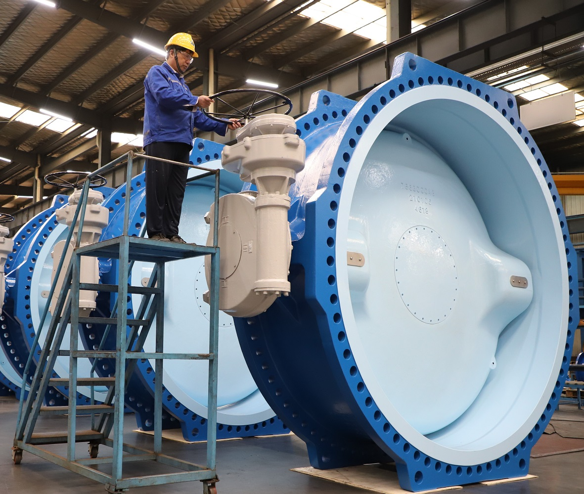 AVK valves in line at Anhui facilities