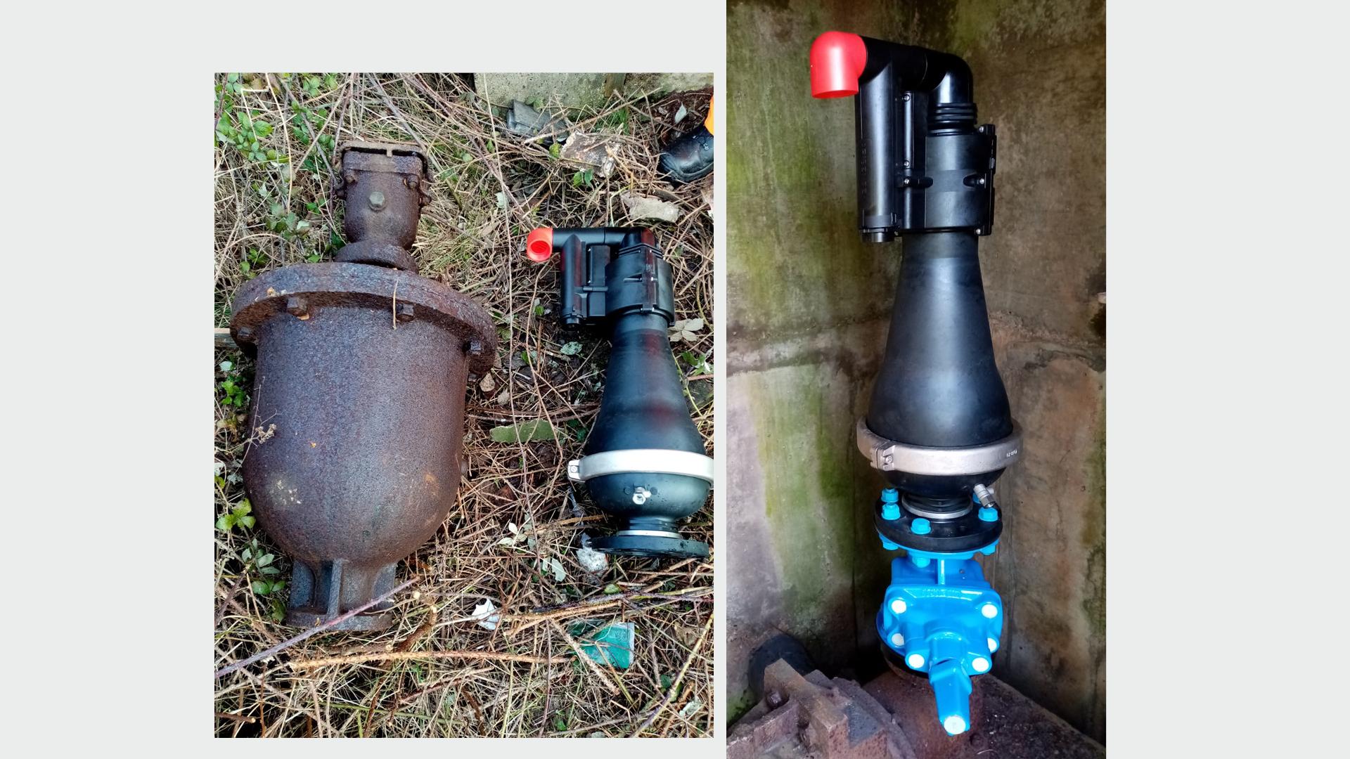 AVK Smart waste water case -Bottom left image