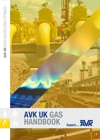 AVK UK Gas handbook cover
