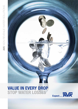 AVK brochure about water loss