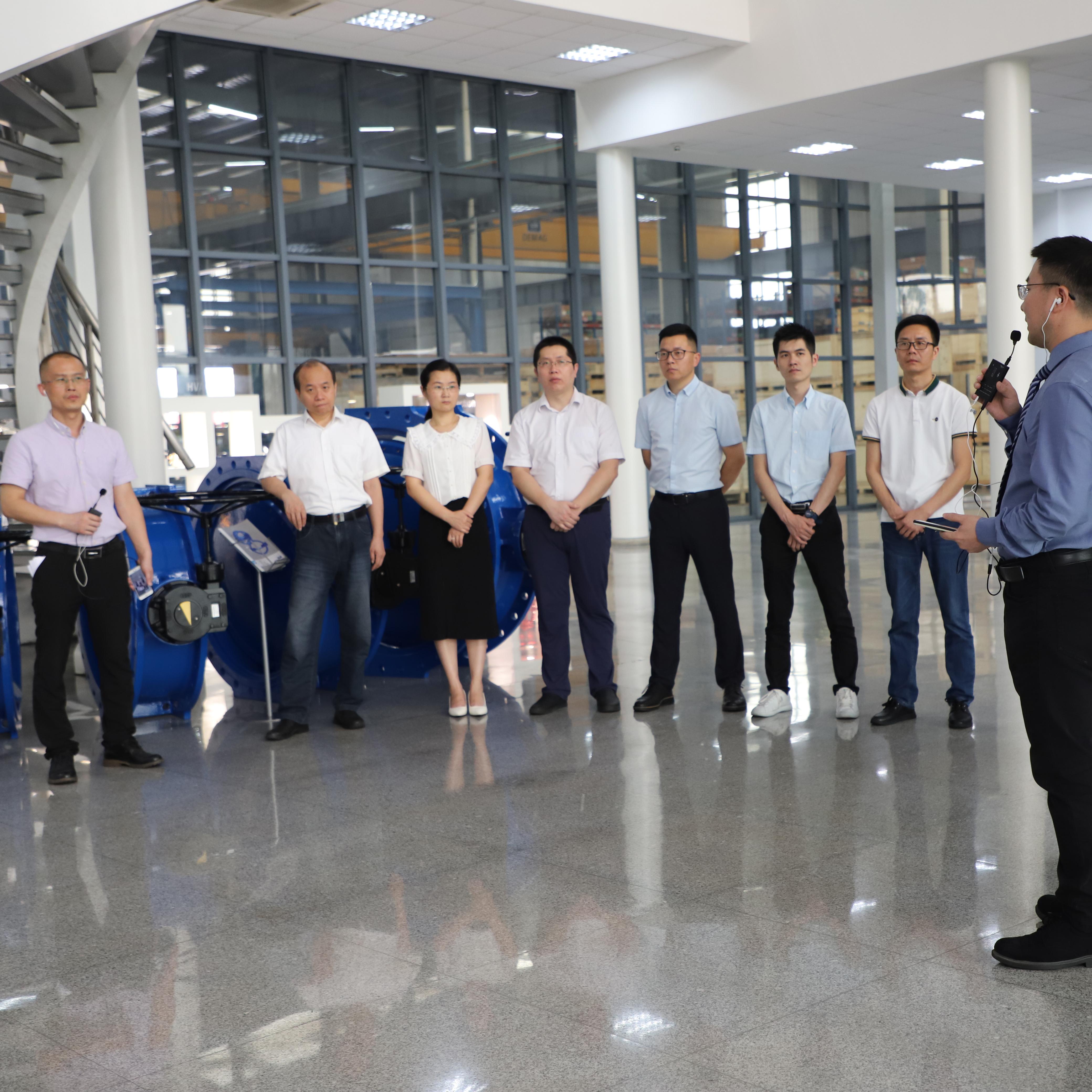 Anhui Team - FEWA factory tour