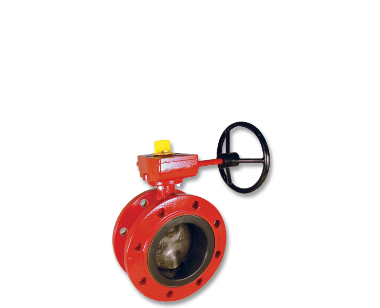Various fire protection butterfly valves