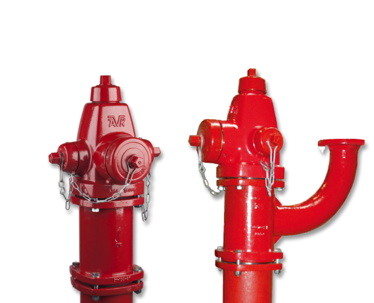 Dry barrel hydrants for fire protection