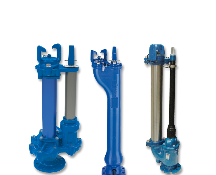 Various AVK underground hydrants for water